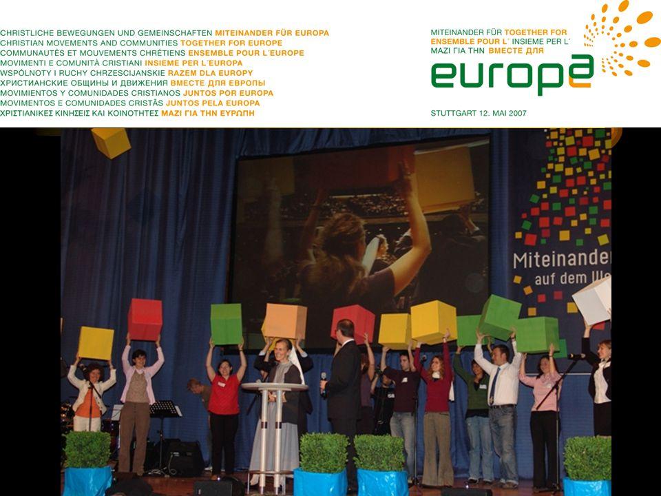 Miteinander für Europa –Das Miteinander christlicher Bewegungen, Gemeinschaften und Kommunitäten ist gelebte Gemeinschaft unter selbständigen Gruppierungen und Strukturen.