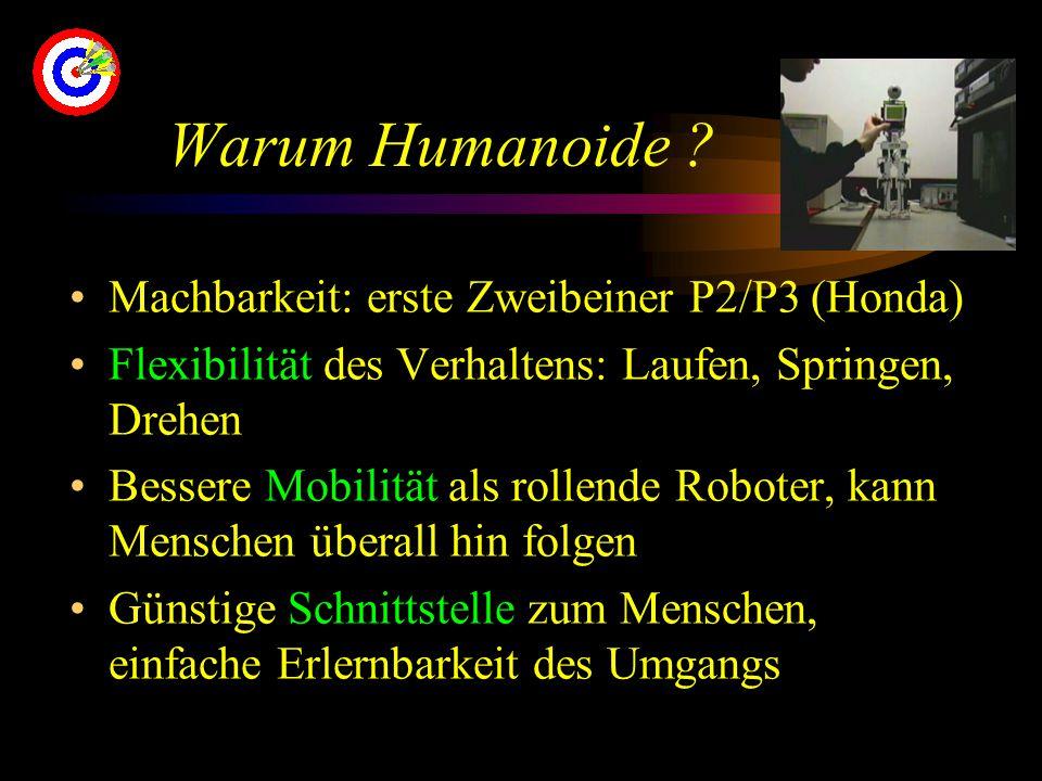 Warum Humanoide .