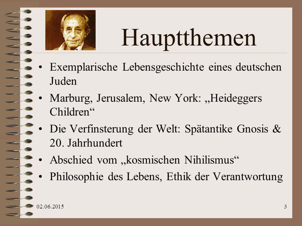 """02.06.20154 """"Heideggers Kinder"""