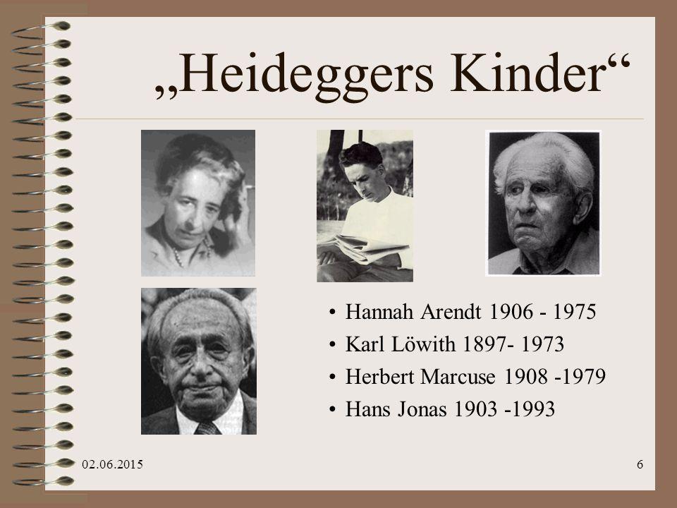 02.06.201537 Briefwechsel mit Hannah Arendt, 1972