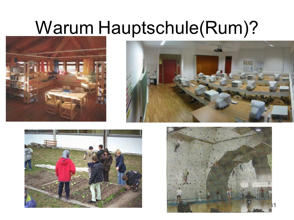 41 Warum Hauptschule(Rum)?