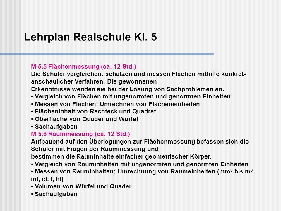 Lehrplanentwurf Gymnasium Kl. 8