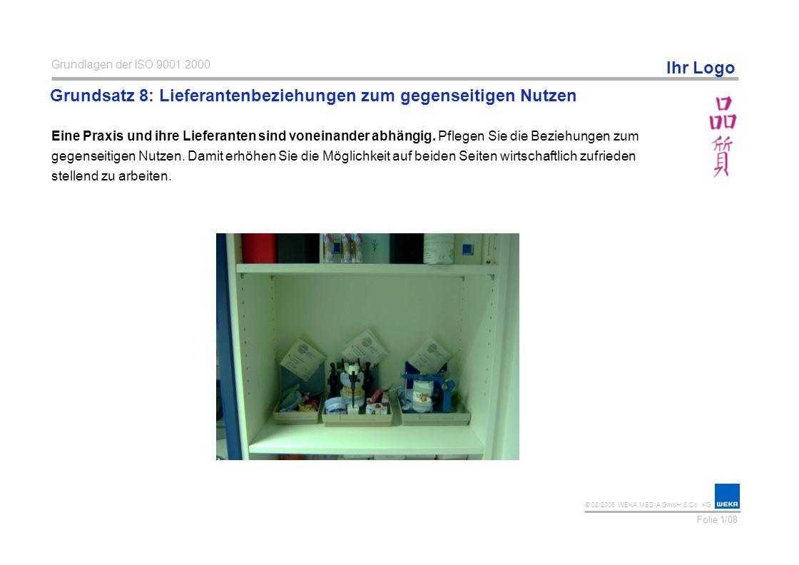 © 02/2006 WEKA MEDIA GmbH & Co.KG Ihr Logo Prozessorientierter Ansatz (gem.