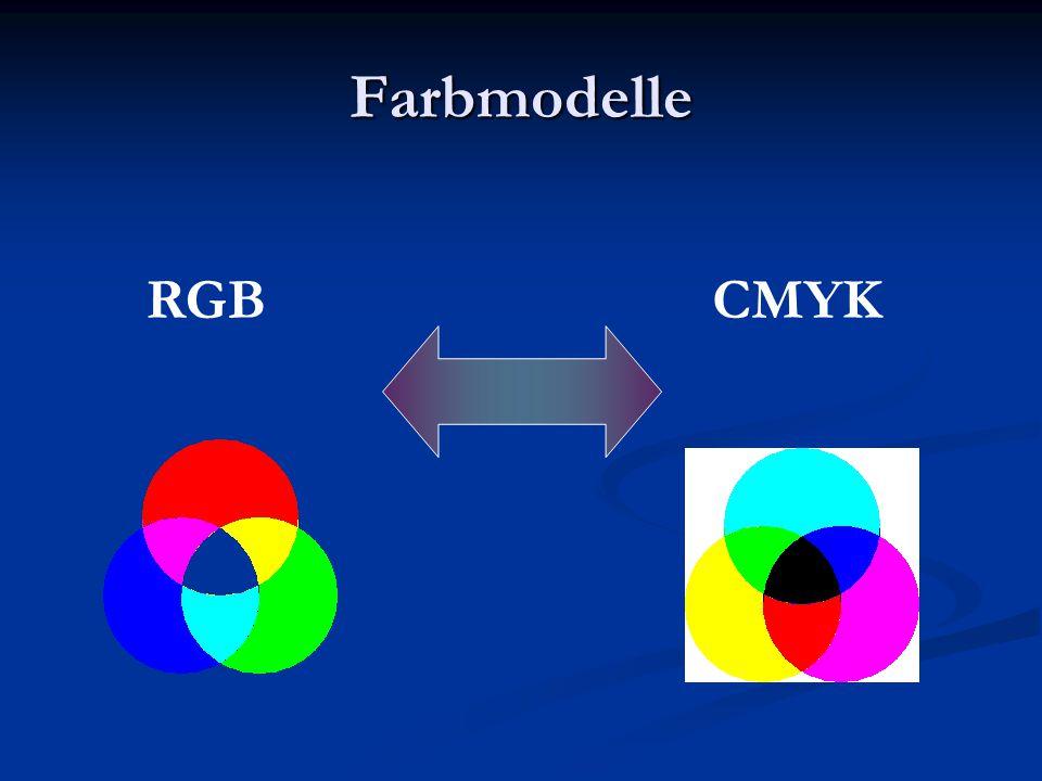 Farbmodelle RGBCMYK