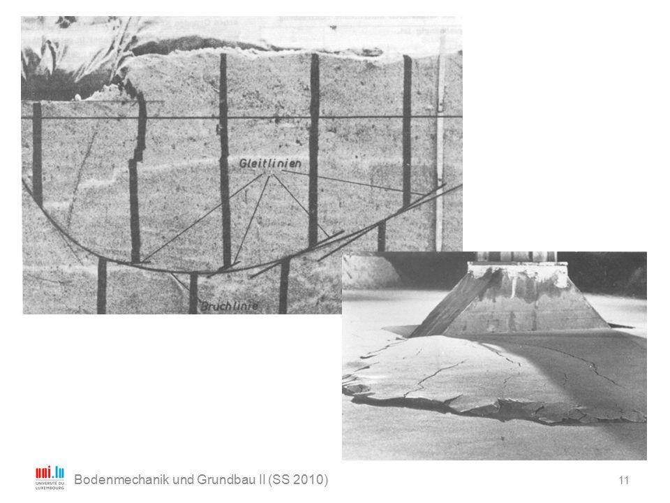 11 Bodenmechanik und Grundbau II (SS 2010)
