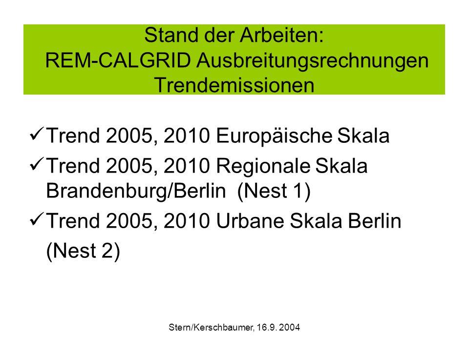 NOX Jahresmittelwert (µg/m3) 2002: REM-CALGRID RUN, 1x1 km2-grid