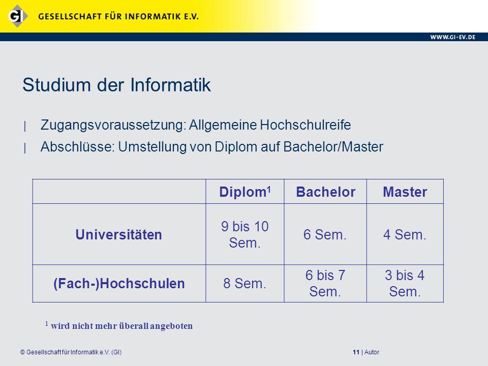 11 | Autor© Gesellschaft für Informatik e.V.