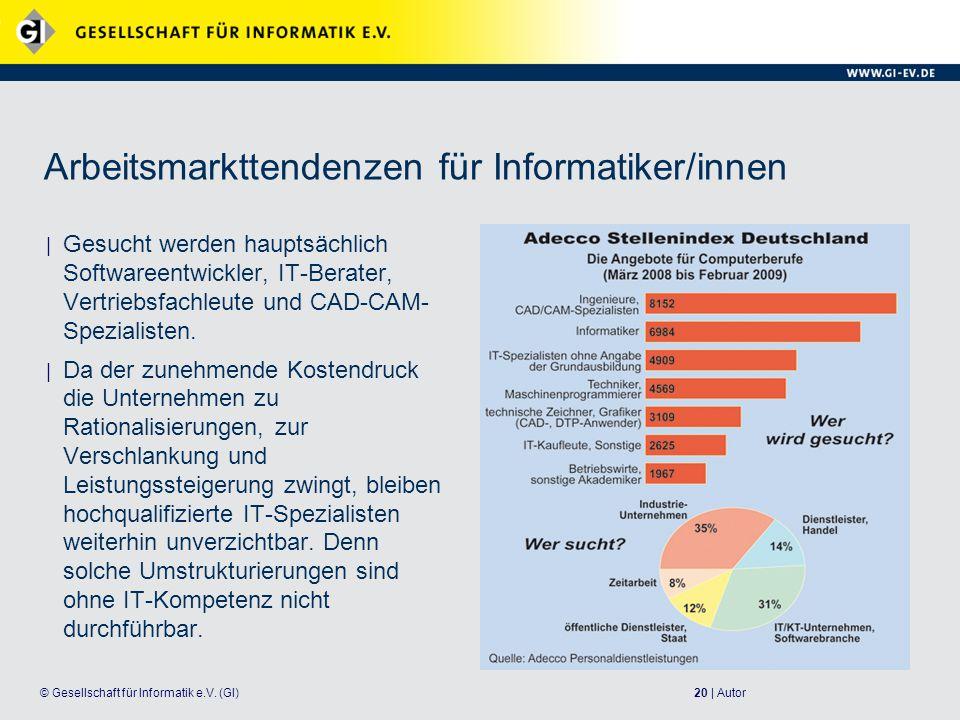 20 | Autor© Gesellschaft für Informatik e.V.