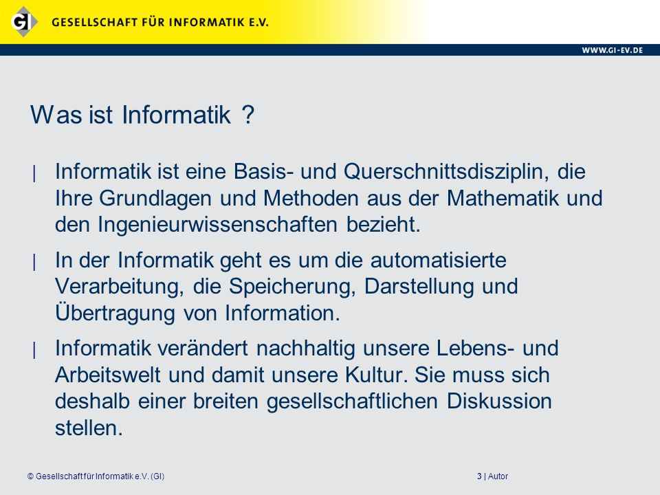 24 | Autor© Gesellschaft für Informatik e.V.