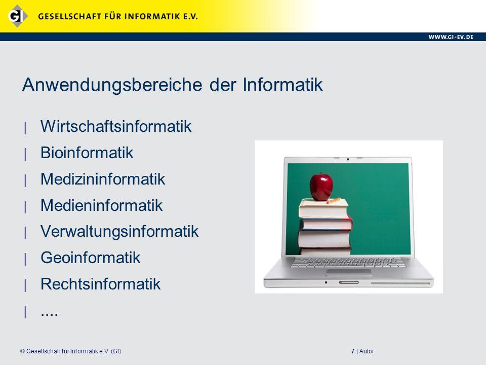18 | Autor© Gesellschaft für Informatik e.V.