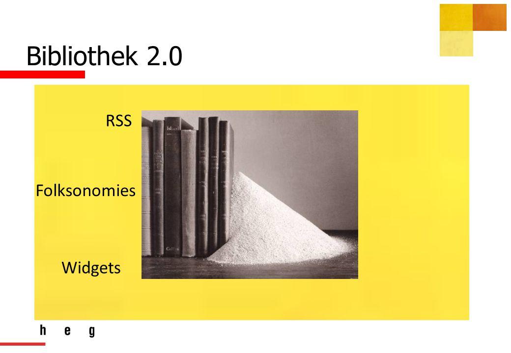 Bibliothek 2.0 RSS Folksonomies Widgets