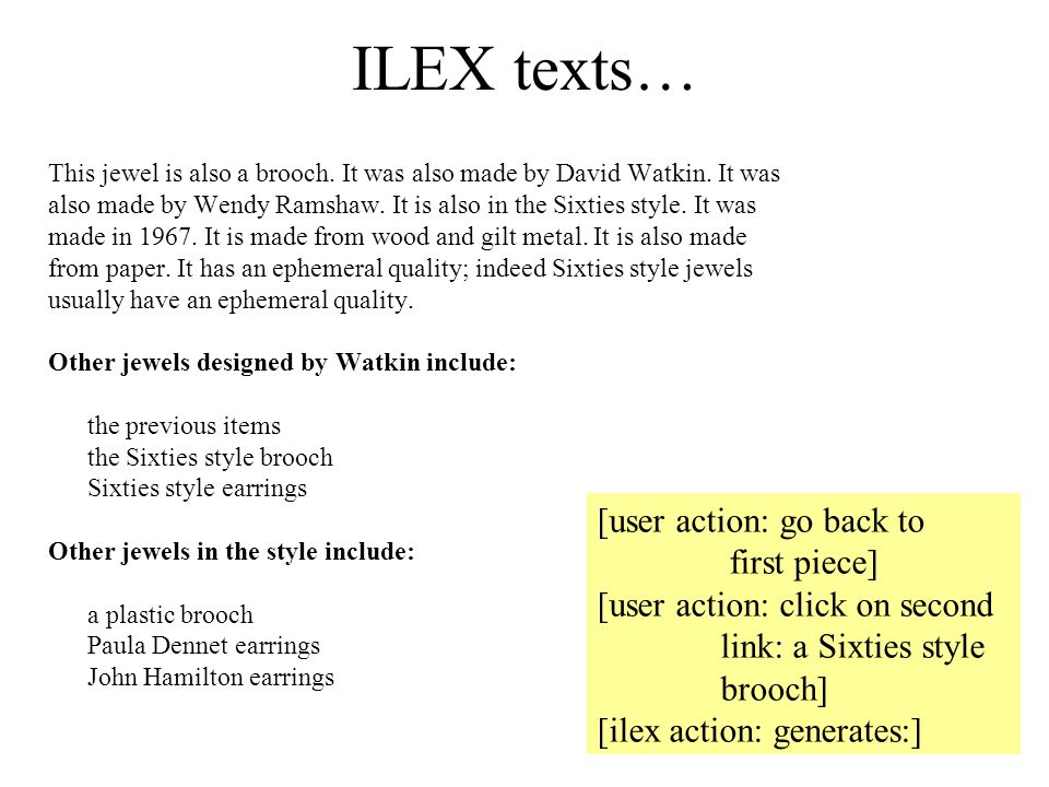 ILEX texts… This jewel is also a brooch. It was also made by David Watkin. It was also made by Wendy Ramshaw. It is also in the Sixties style. It was