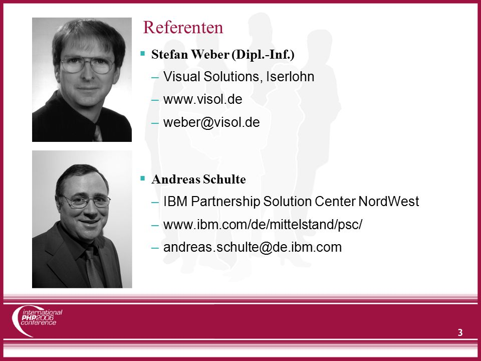 34 PHP & Sametime Integration via STLinks Java Script Code wird in PHP Script integriert Namensfeld notwendig für Awarnes-Funktion Login am Sametime Server aus PHP Anwendung Apache & Sametime Login .