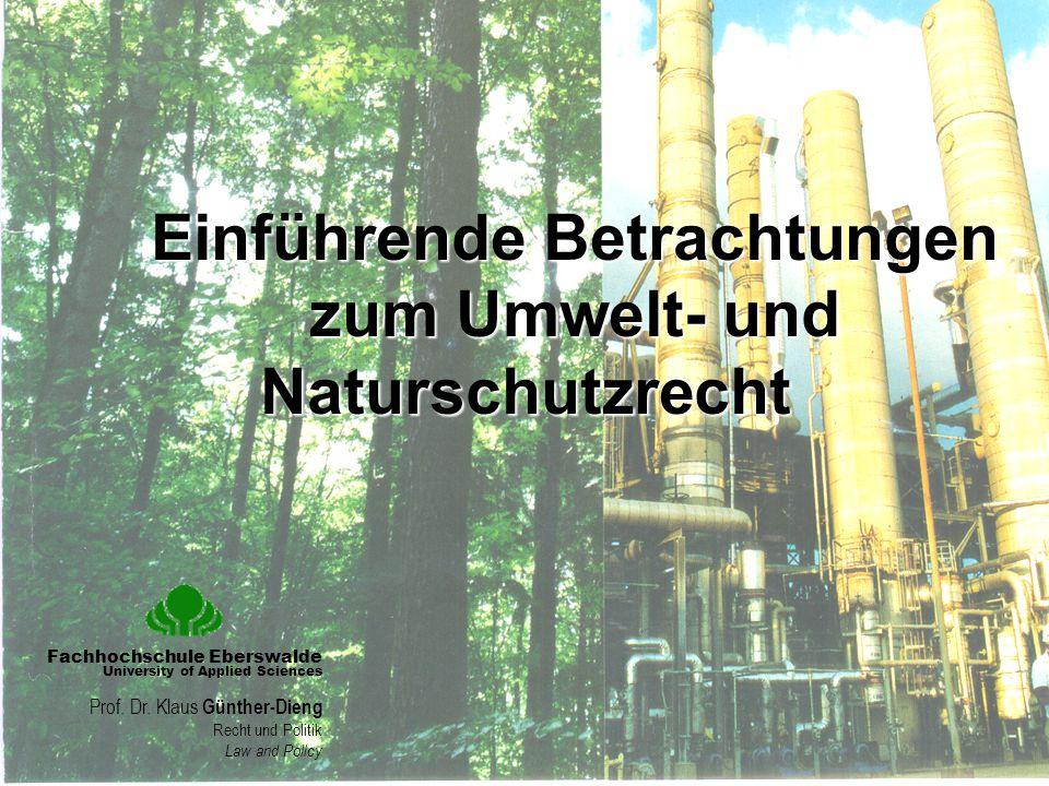 Die Verwendung des Begriffs ist weder einheitlich geregelt noch besteht eine einheitliche Systematik, die als Grundlage für die Formulierung und Hierarchisierung von Umweltqualitätszielen herangezogen werden könnte.