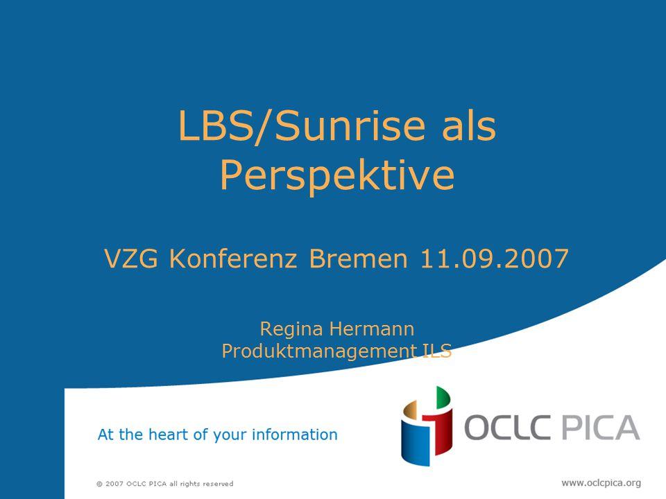 2 Themen dieses Vortrages: Produktstrategie LBS SunRise LBS SunRise - Look and feel anhand konkreter Beispiele Offene Schnittstellen - was bietet LBS SunRise dafür an.