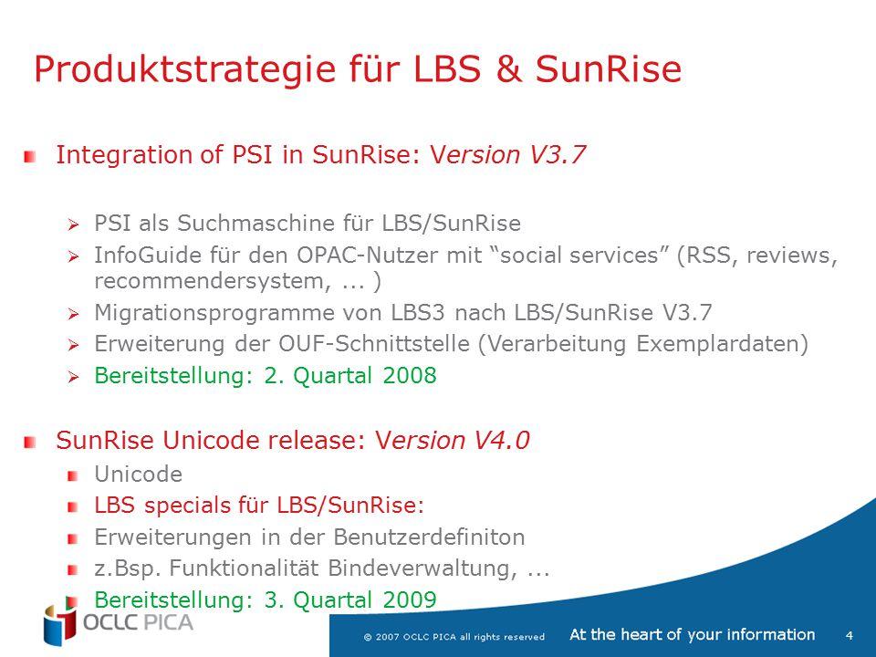 5 Look & Feel LBS/SunRise