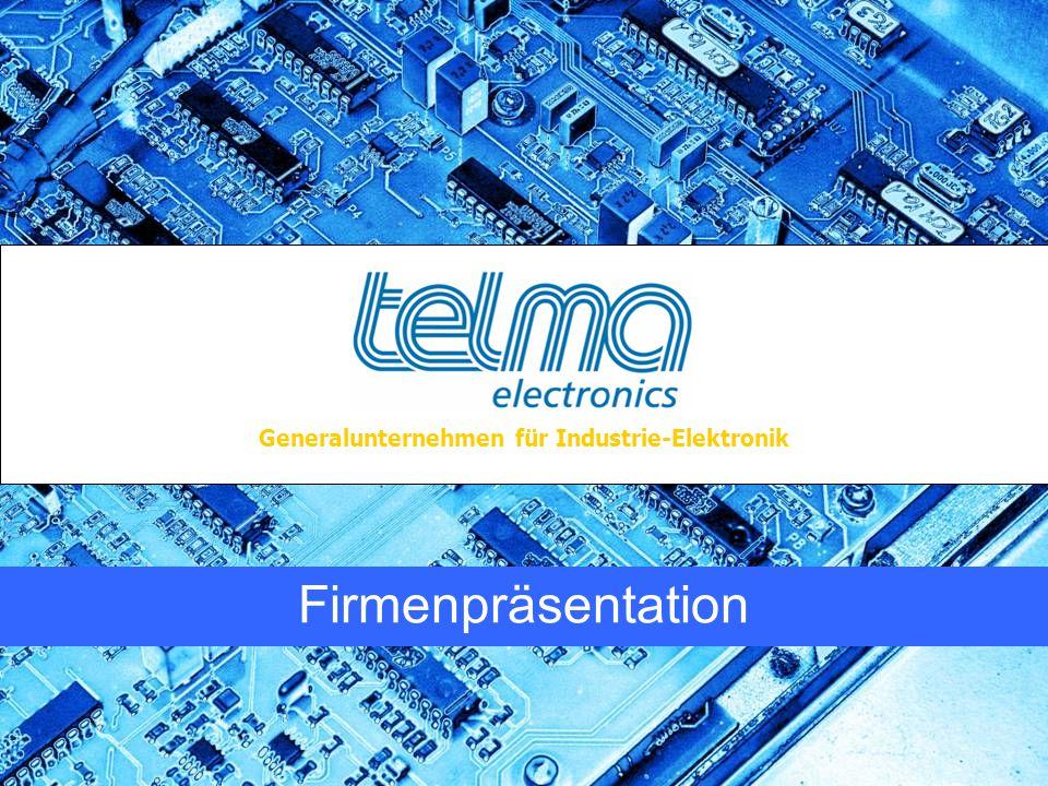 Generalunternehmen für Industrie-Elektronik Firmenpräsentation