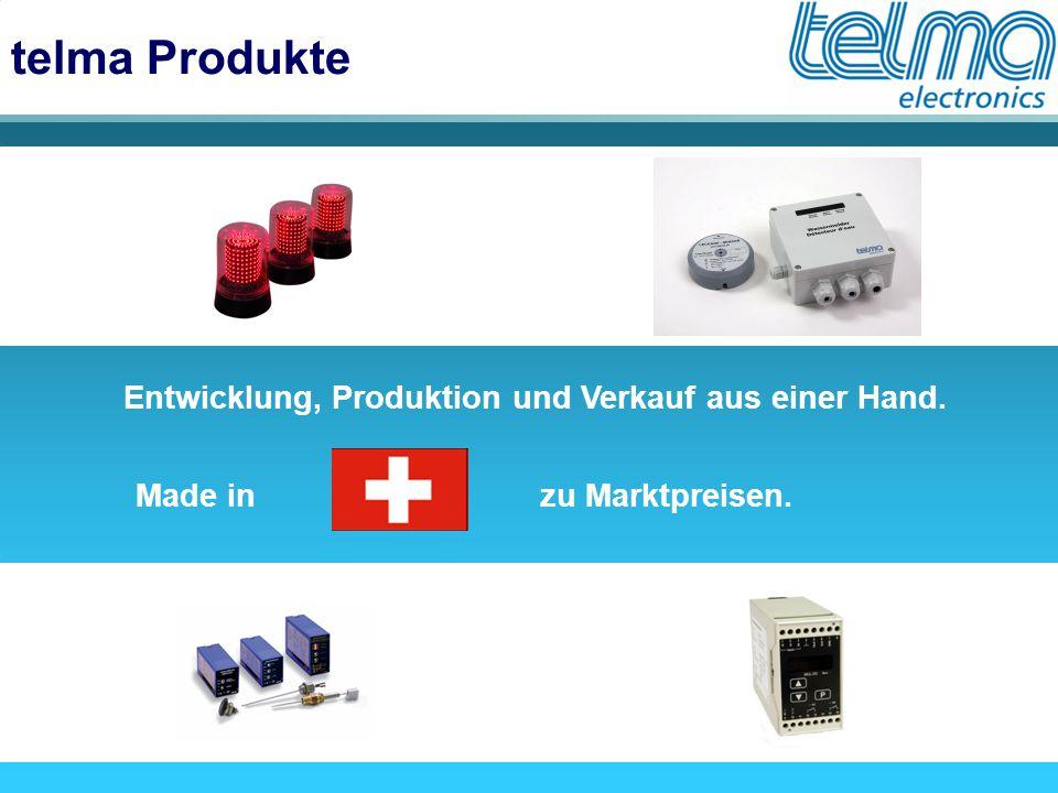 telma Produkte Entwicklung, Produktion und Verkauf aus einer Hand. Made inzu Marktpreisen.