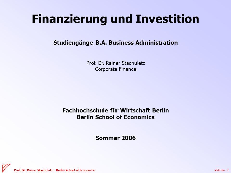 slide no.: 1 Prof. Dr.