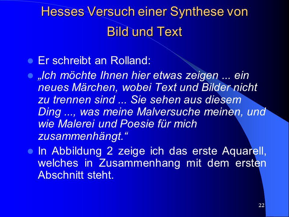 21 Hypothese 5: Die technische, künstlerische Elaboration der piktorialen bzw.