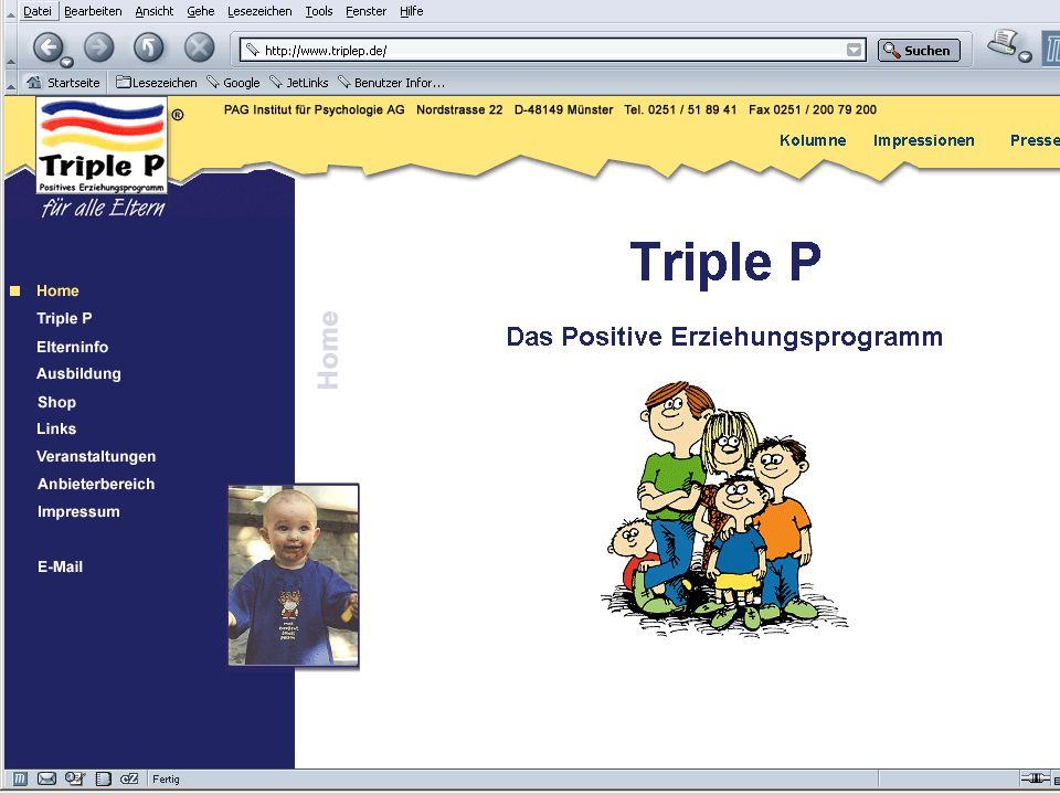Triple P Das Positive Erziehungsprogramm