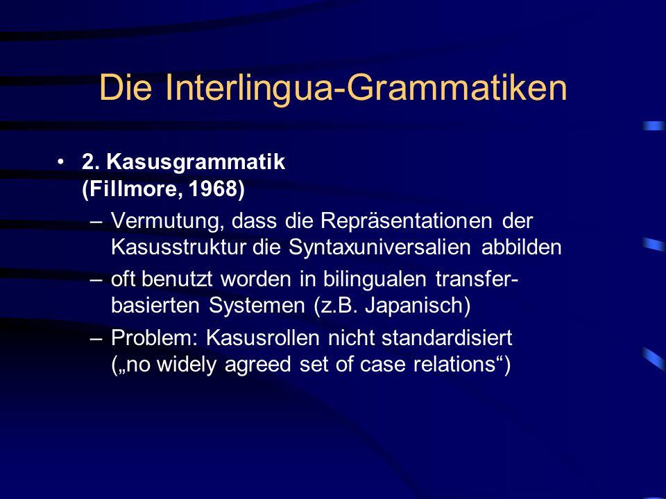Die Interlingua-Grammatiken 2.