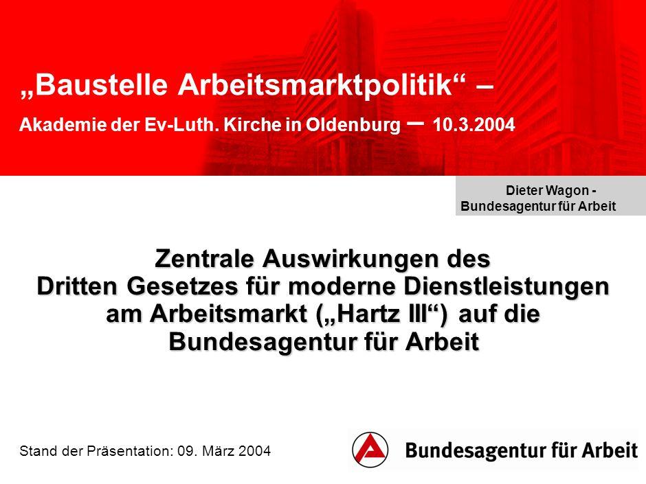 """""""Baustelle Arbeitsmarktpolitik – Akademie der Ev-Luth."""