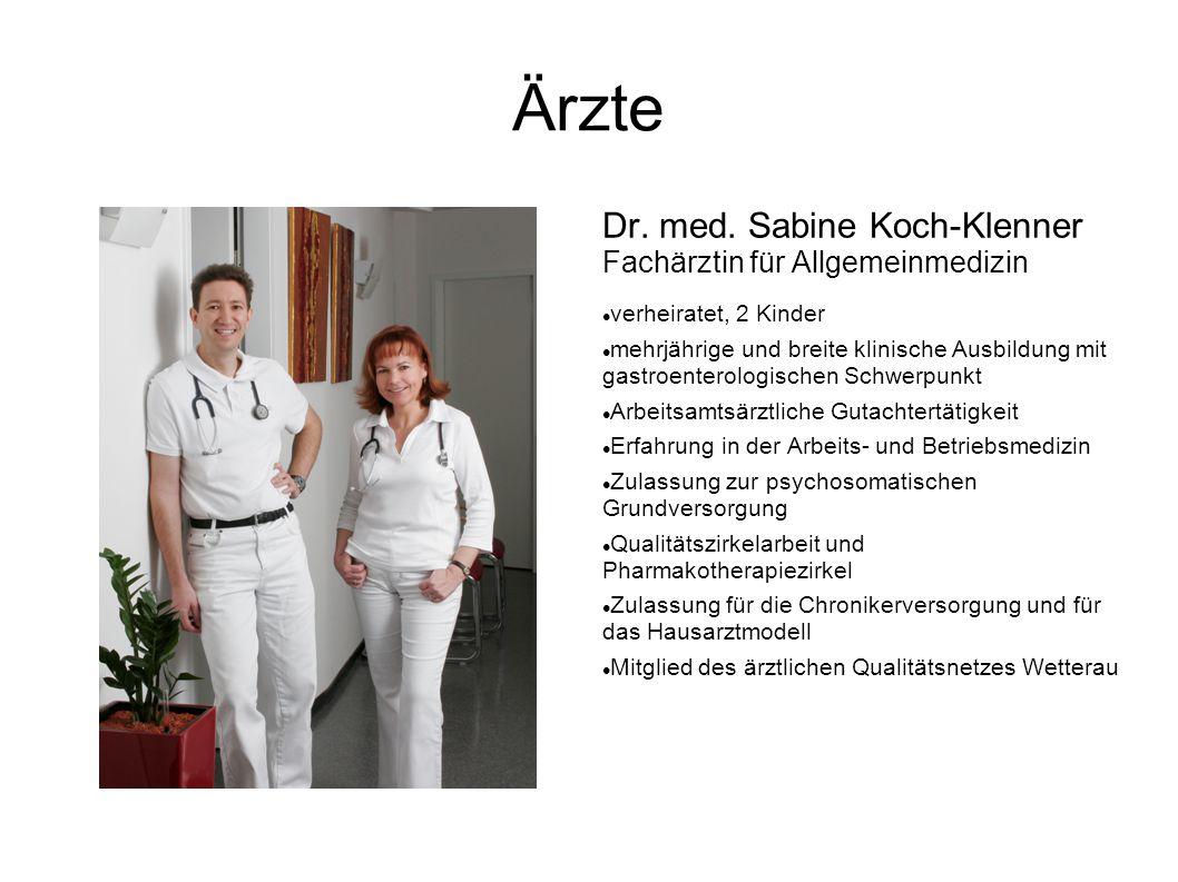 Ärzte Dr. med.
