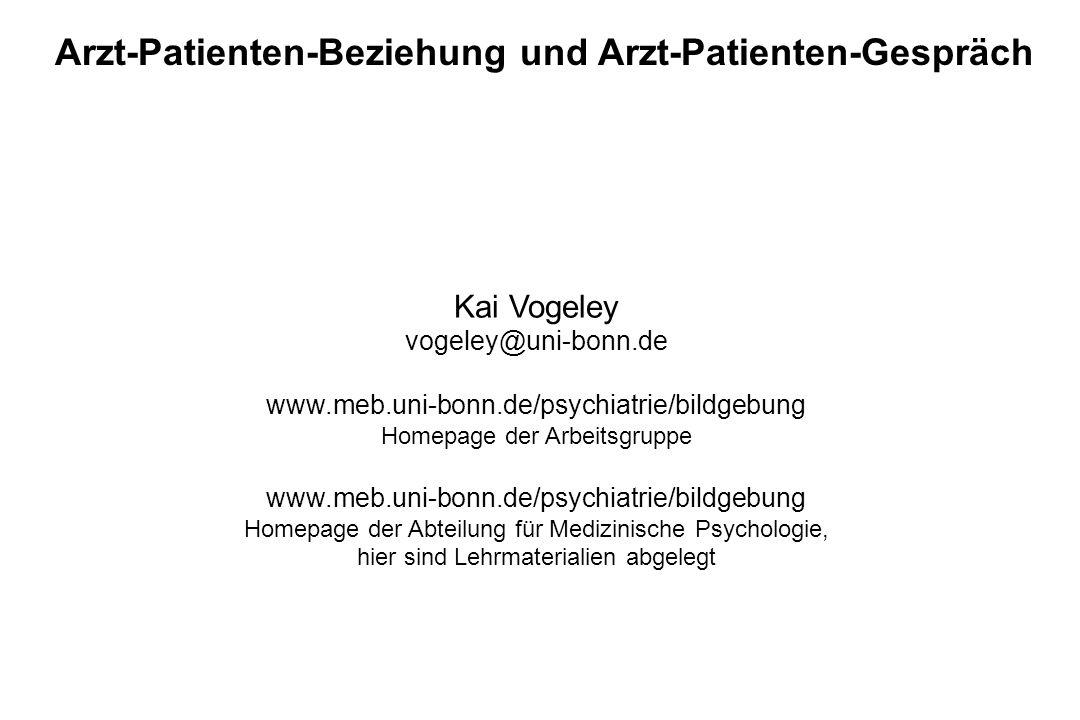 Kai Vogeley vogeley@uni-bonn.de www.meb.uni-bonn.de/psychiatrie/bildgebung Homepage der Arbeitsgruppe www.meb.uni-bonn.de/psychiatrie/bildgebung Homep