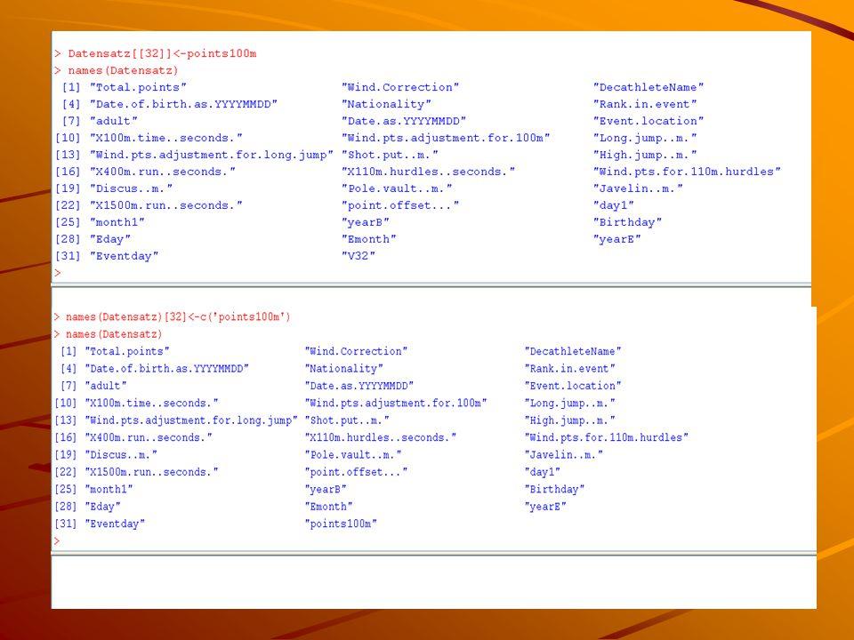 Speichern der neuen Elemente Tools  Object Browser Zu Speichernde Daten wählen Save Data