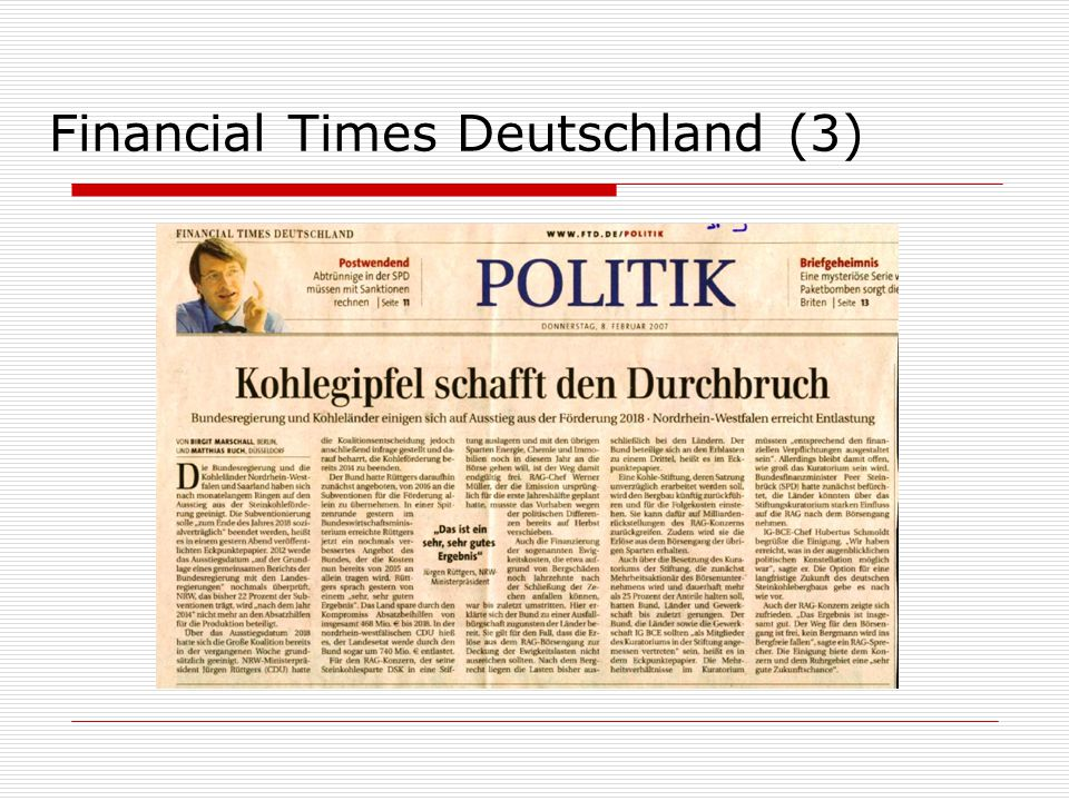 Financial Times Deutschland (3)