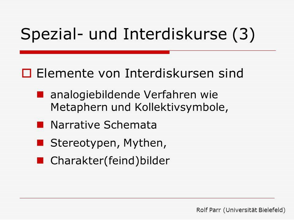 Analysebeispiel: »Börse im Ersten« Rolf Parr (Universität Bielefeld)