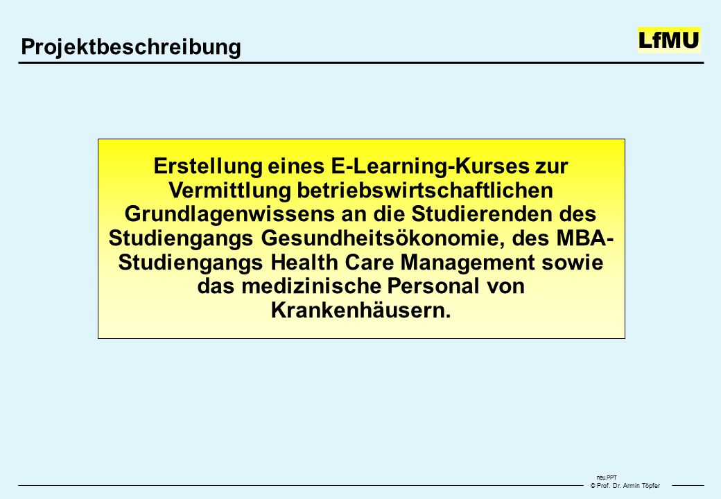 © Prof. Dr.