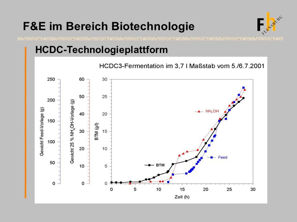HCDC-Technologieplattform F&E im Bereich Biotechnologie