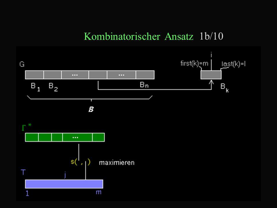 Kombinatorischer Ansatz 1b/10