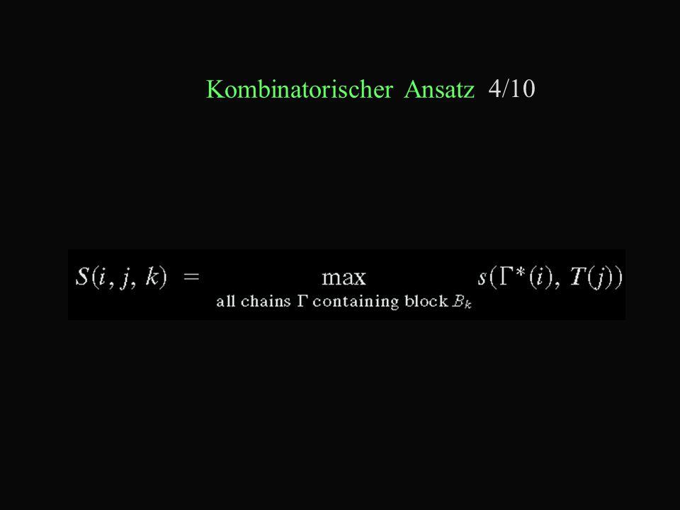 Kombinatorischer Ansatz 4/10