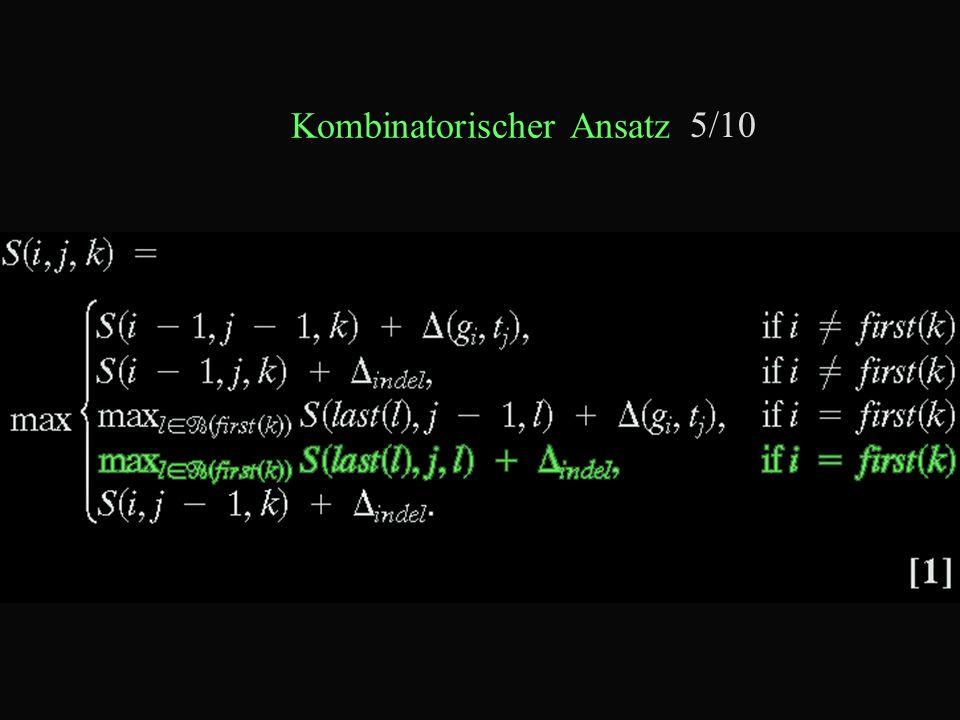 Kombinatorischer Ansatz 5/10