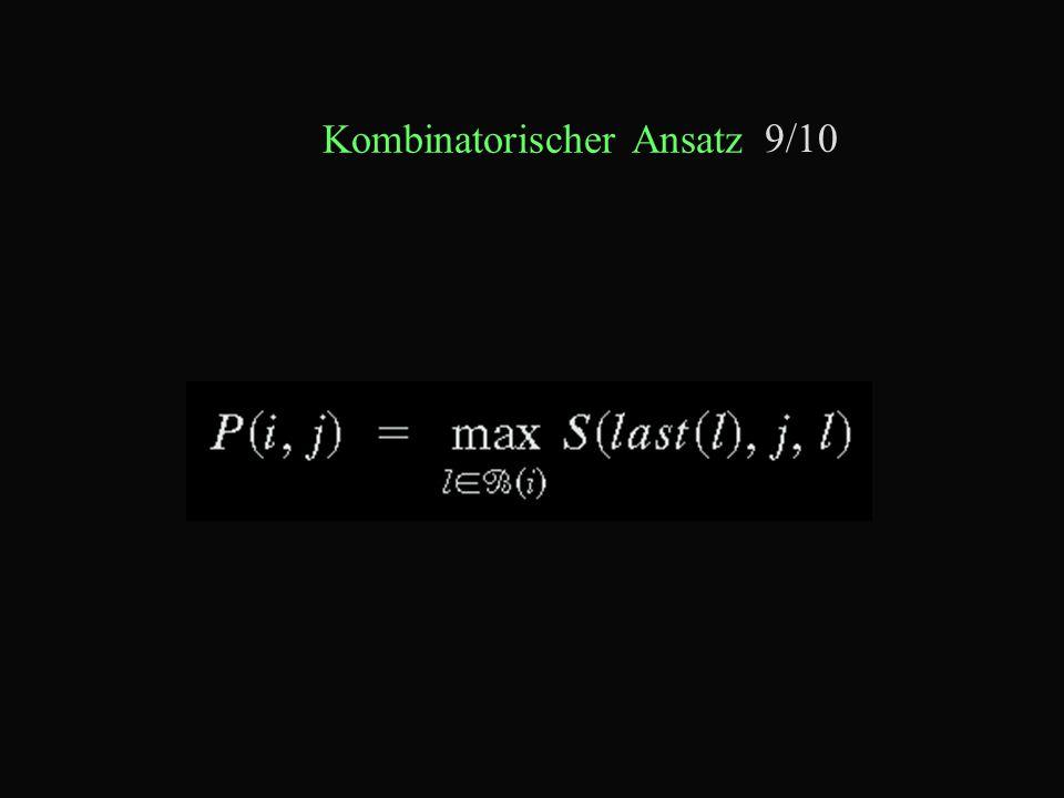 Kombinatorischer Ansatz 9/10