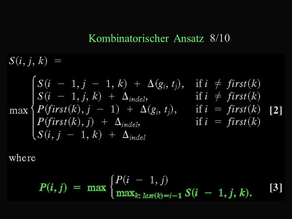 Kombinatorischer Ansatz 8/10