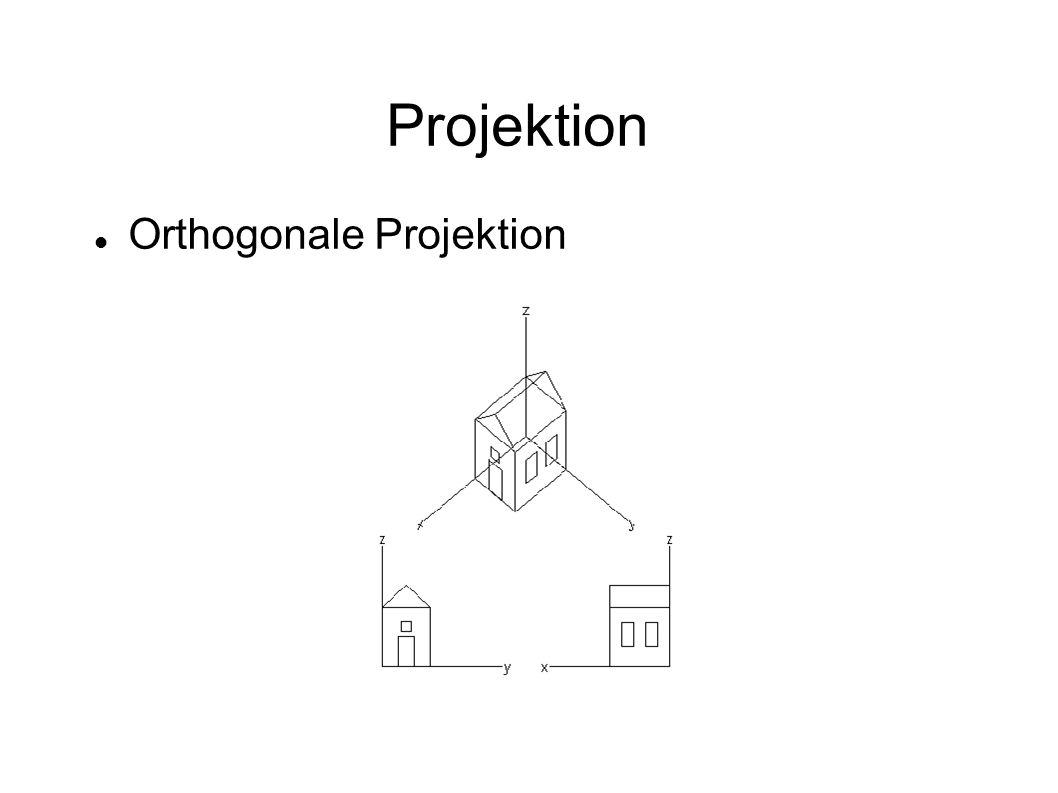 Projektion Orthogonale Projektion