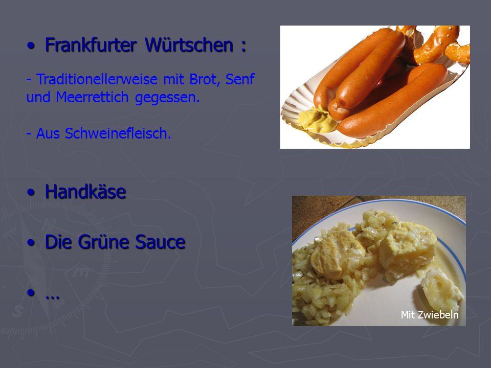 HandkäseHandkäse - Traditionellerweise mit Brot, Senf und Meerrettich gegessen.
