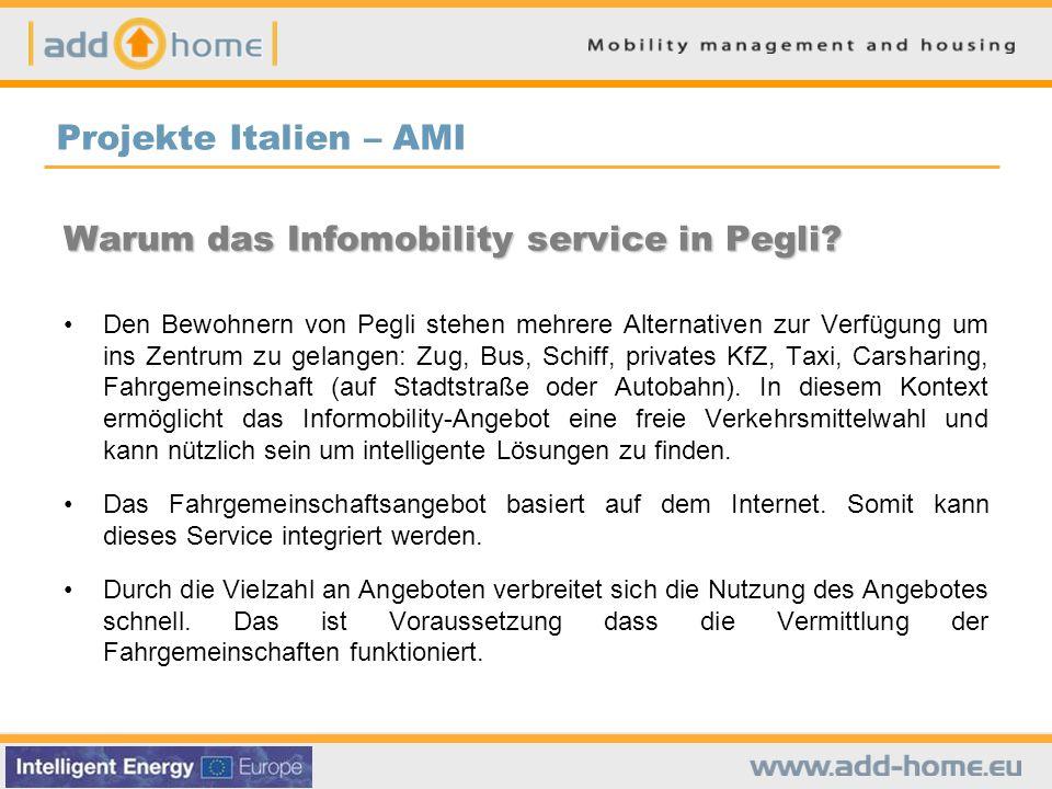 Warum das Infomobility service in Pegli.