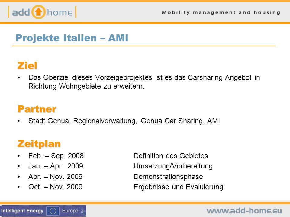 Car Pooling AMI führte eine Machbarkeitsstudie sowie die technische Spezifikation für ein Fahrgemeinschafts-System durch.