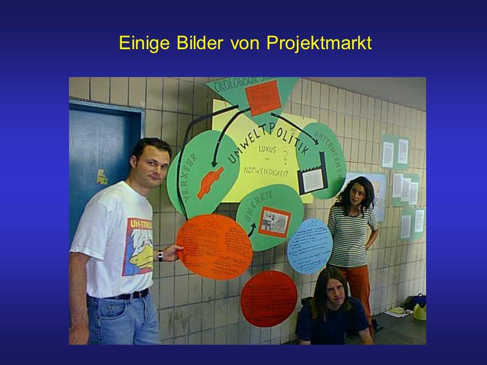 Einige Bilder von Projektmarkt