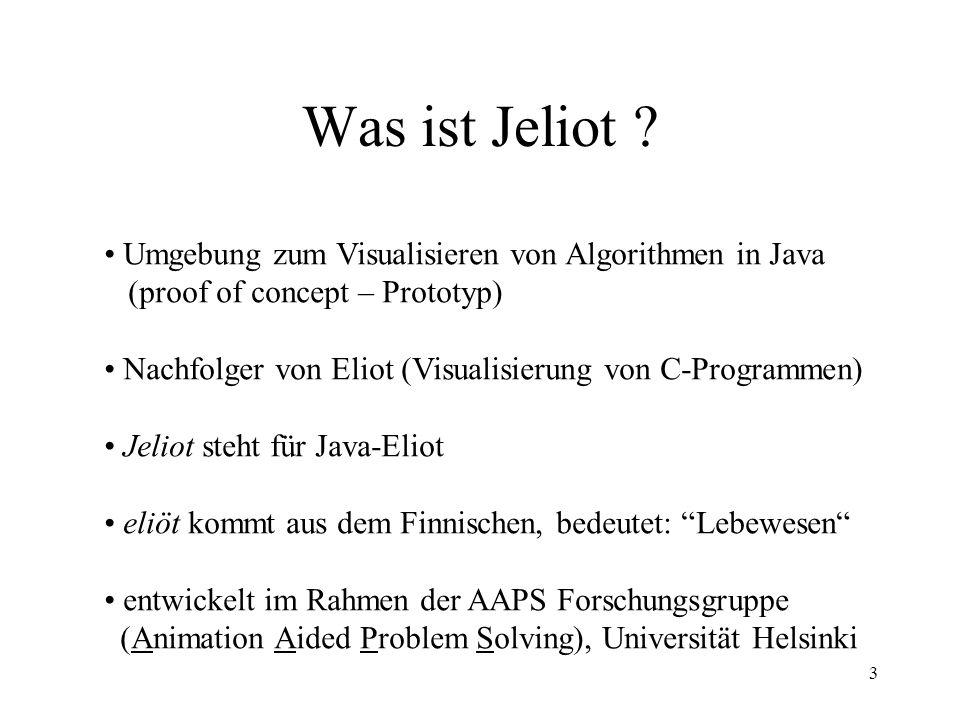 3 Was ist Jeliot .