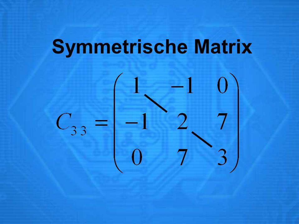 Symmetrische Matrix