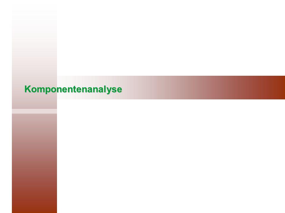 Komponentenanalyse