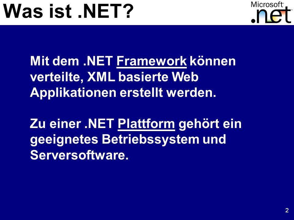 2 Was ist.NET.