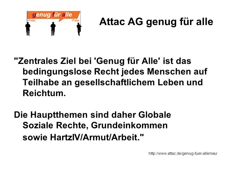 Attac AG genug für alle
