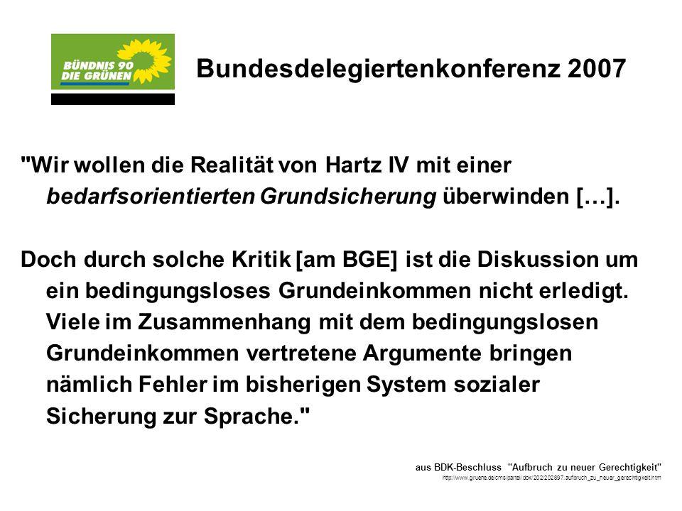 Bundesdelegiertenkonferenz 2007